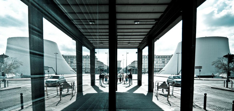 #LH #LeHavre Reflet Rue de Paris
