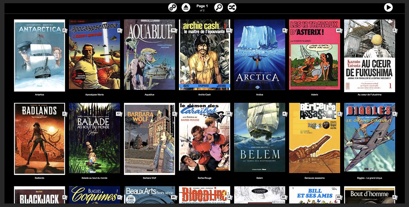 Ubooquity, Plex mais pour les livres et BD !