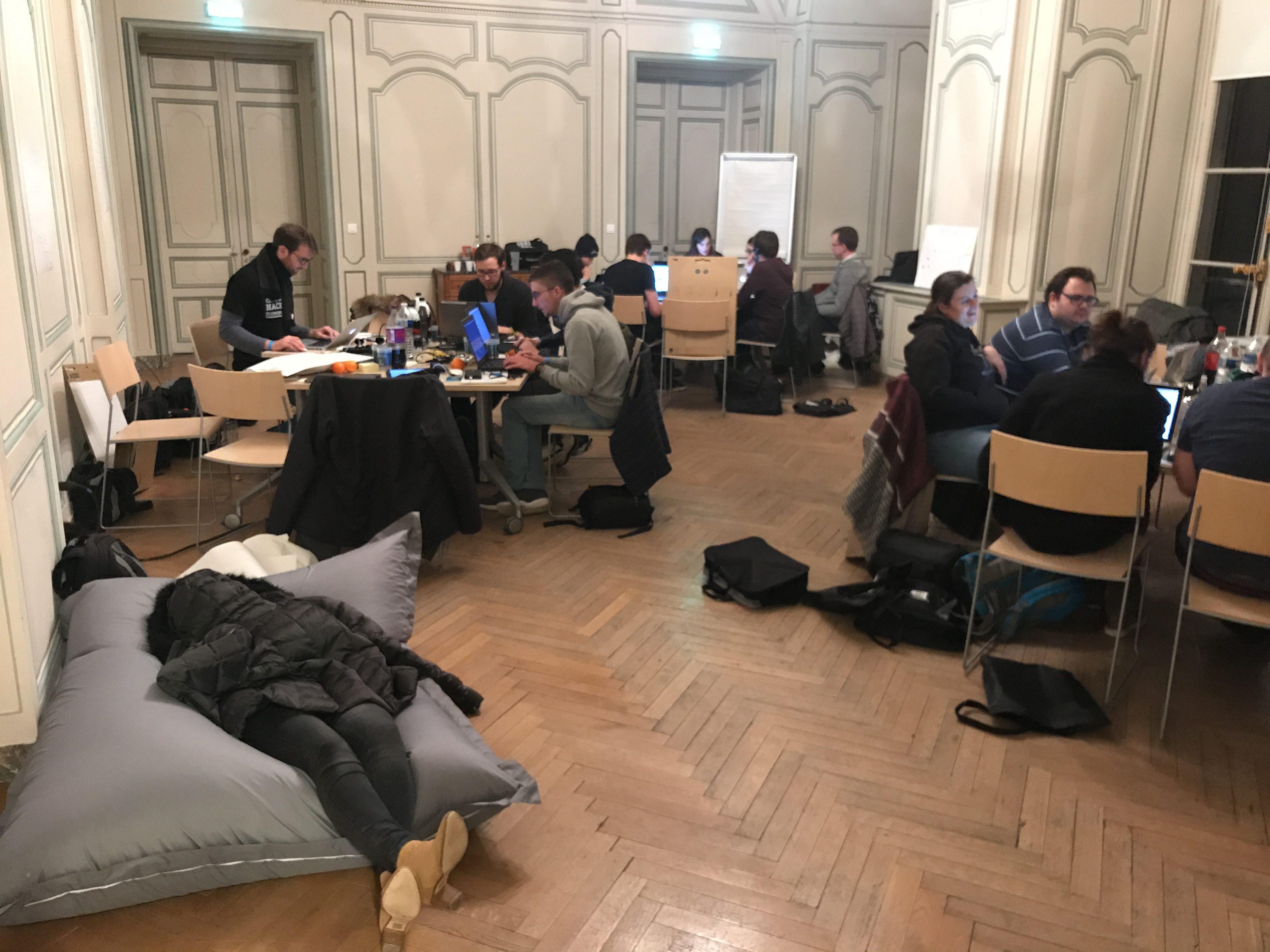 J'ai participé à un Hackathon !