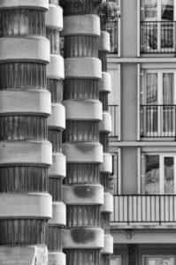 Contraste architectural - Le Havre