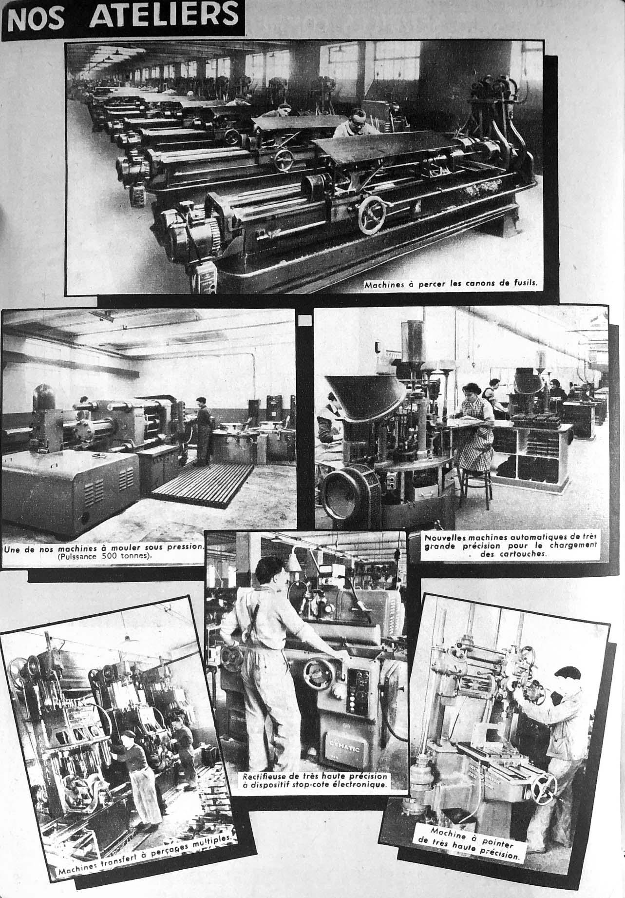 Les ateliers Manufrance