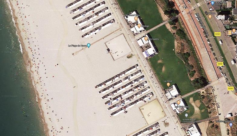 Cabanes de plage LH par Google