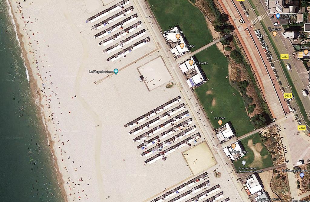Les cabanes de plage du #Havre #LH