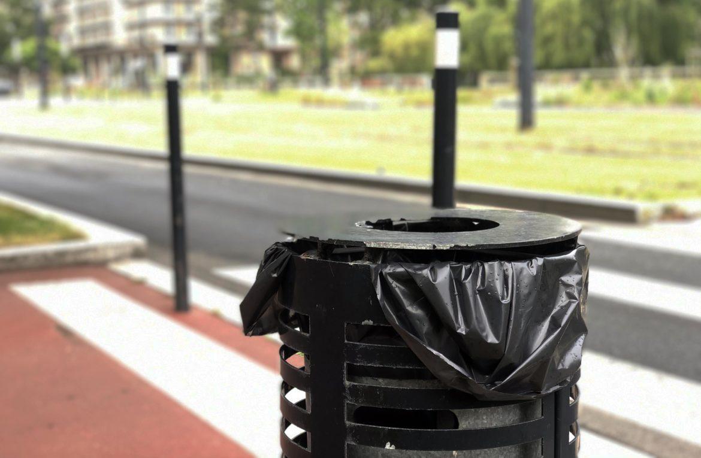 Les poubelles et les goélands du #Havre #LH