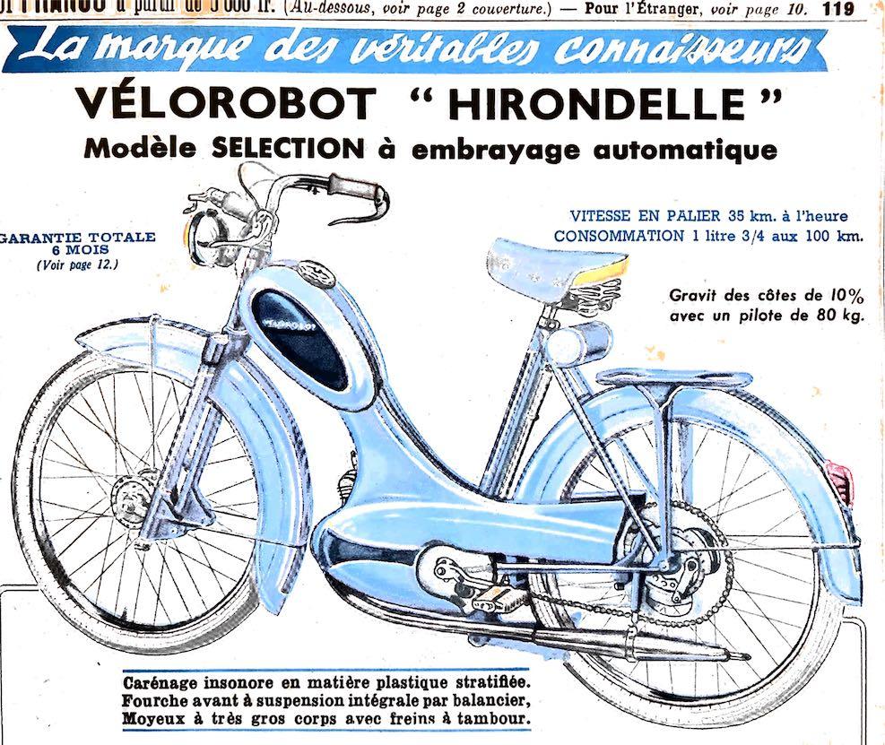 Manufrance Vélorobot Hirondelle
